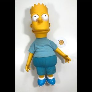 "VINTAGE 20"" BART SIMPSON TOY FIGURINE THE SIMPSONS"